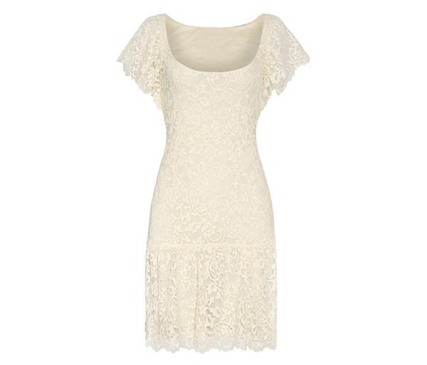Ghost model dress